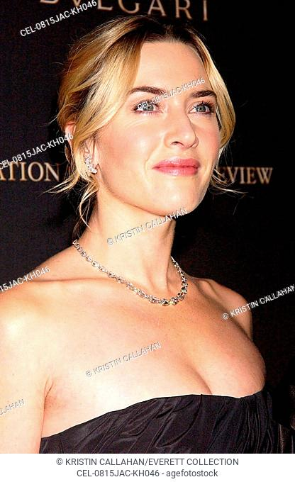 Kate Winslet at arrivals for 2008 National Board of Review of Motion Picture Awards Gala, Cipriani Restaurant 42nd Street, New York, NY, January 15, 2008