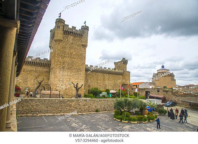 Medieval castle. Oropesa, Toledo province, Castilla La Mancha, Spain