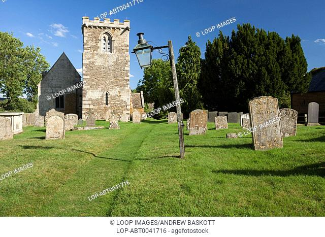 St Peters church and churchyard where scenes for the 2005 film Pride and Prejudice were filmed