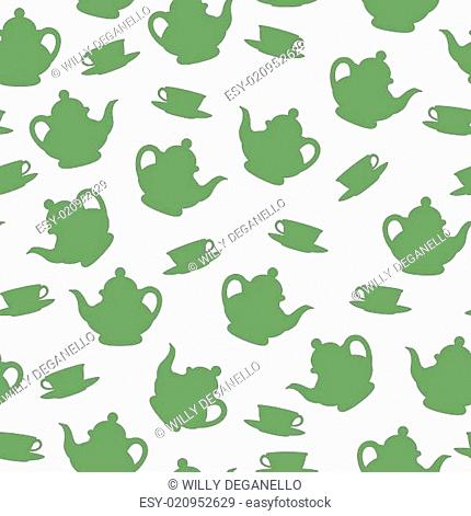 tea semaless pattern