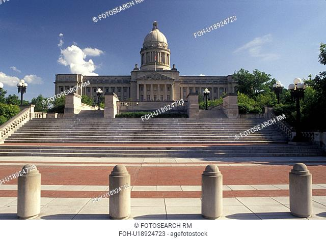 Frankfort, KY, State Capitol, State House, Kentucky, The Kentucky State Capitol Building in the capital city of Frankfort