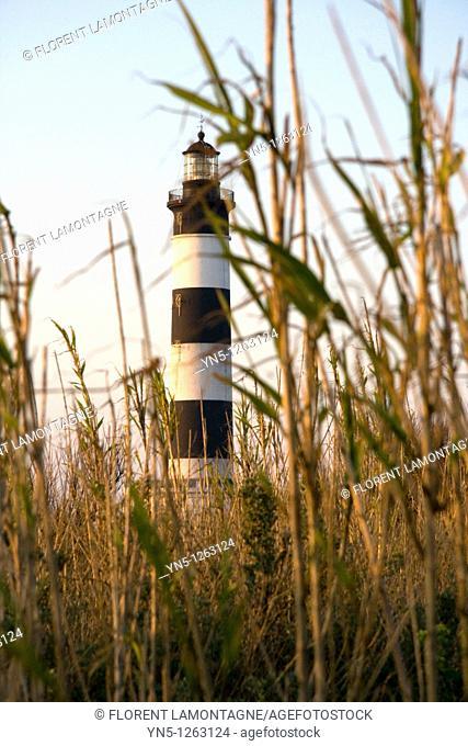 France, Poitou Charentes province, Charente Maritime, Oleron - Lighthouse of Chassiron