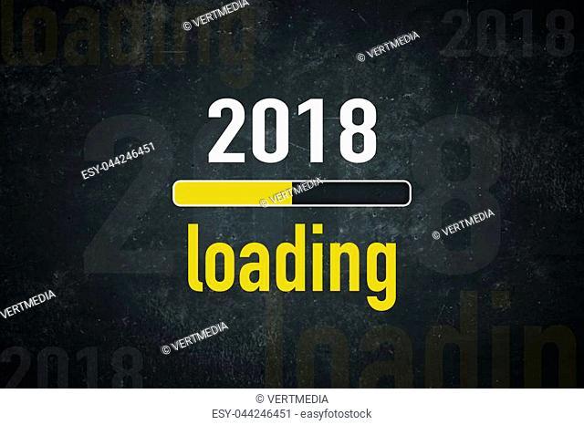 Loading bar: 2018 loading