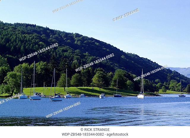 Lake Windermere, Lake District, Cumbria, UK