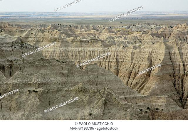usa, north america, south dakota, badlands