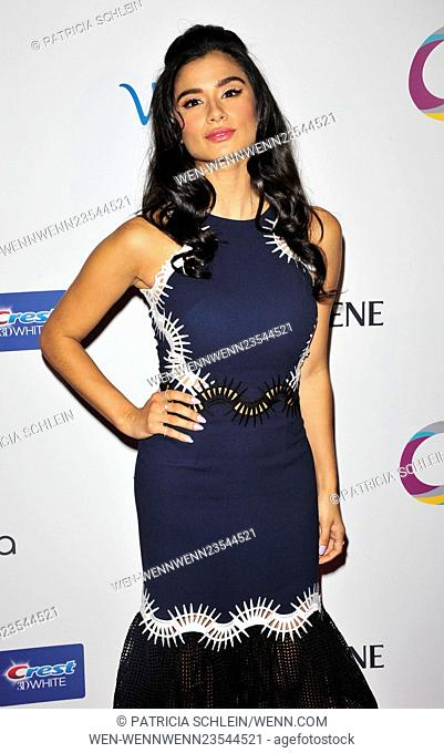 Oraullosa Living Fabulous Event NYC Featuring: Diane Guerrero Where: NYC, New York, United States When: 24 Feb 2016 Credit: Patricia Schlein/WENN.com