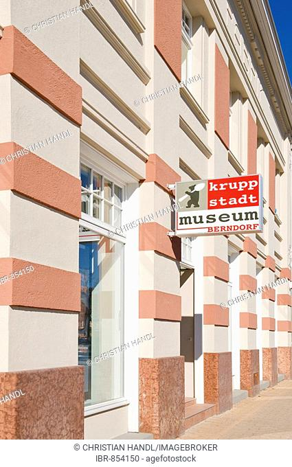Krupp Museum, Berndorf, Triestingtal Valley, Lower Austria, Europe