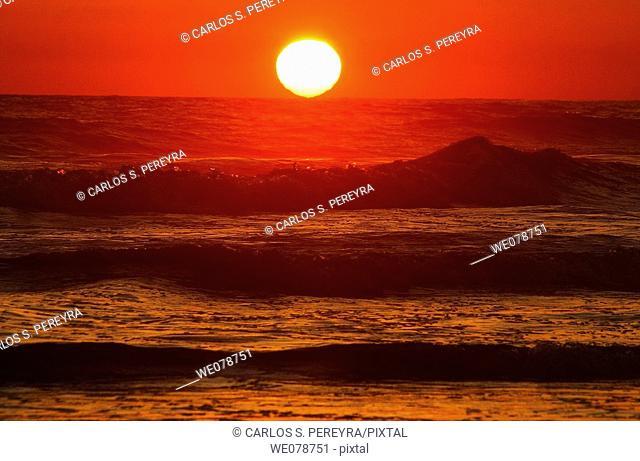 Beach, Troncones, Guerrero, Mexico