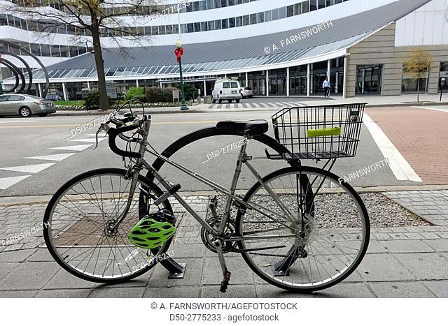 NORFOLK, Va. Norfolk Federal Building. Bicycle rack