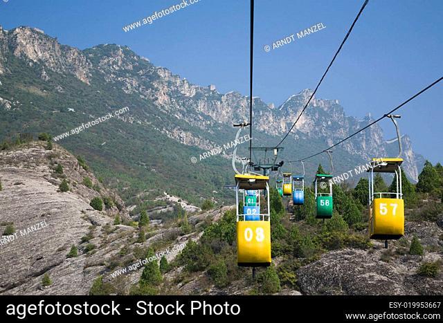 Gondola at the Great Wall