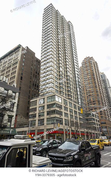 The Archstone Chelsea apartment building at 800 Sixth Avenue in New York on Wednesday, January 16, 2019. The woners Equity Residential is reported to be in...