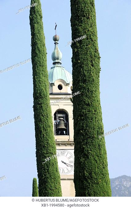 Gentilino is a village and former municipality in the canton of Ticino, Switzerland, the local Church of Sant'Abbondio