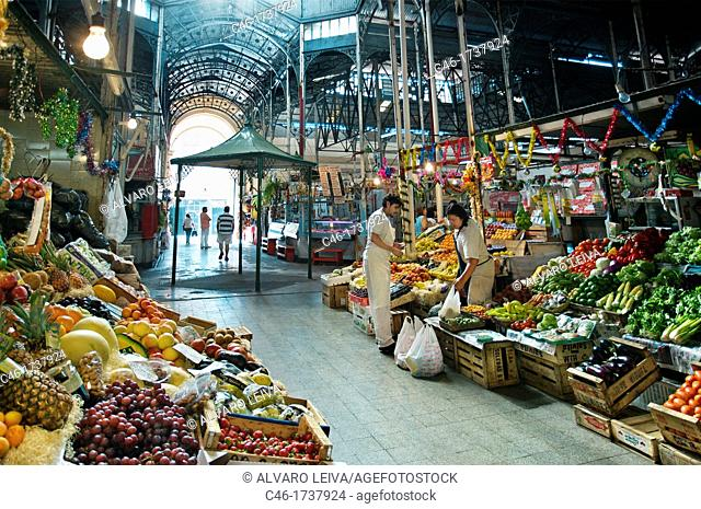 fruits Market, San Telmo District, Buenos Aires, Argentina