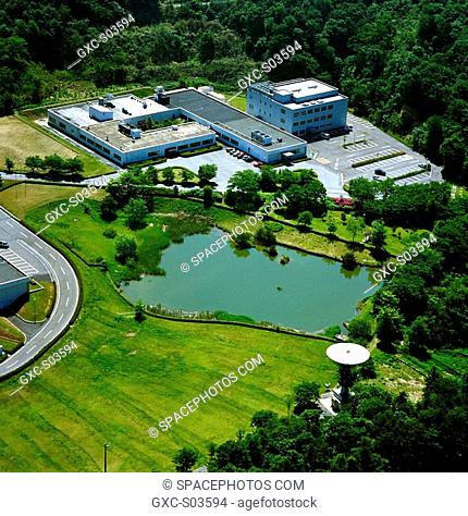 Aerial photo of the Earth Observation Center