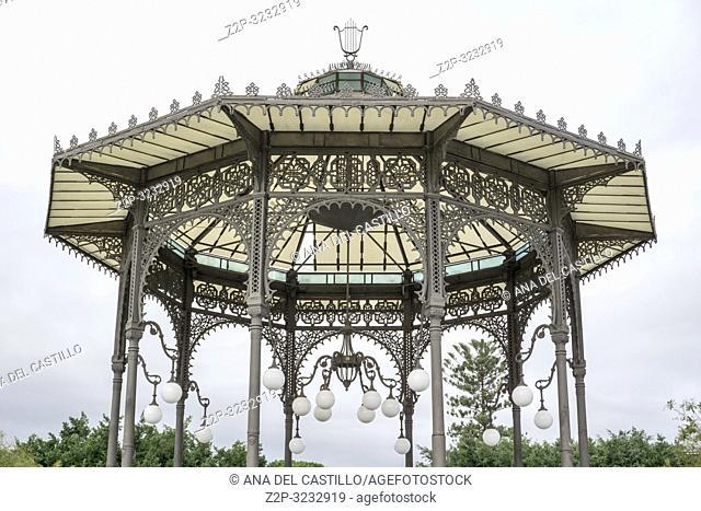 Vincenzo Bellini Park in Catania, Sicily, Italy