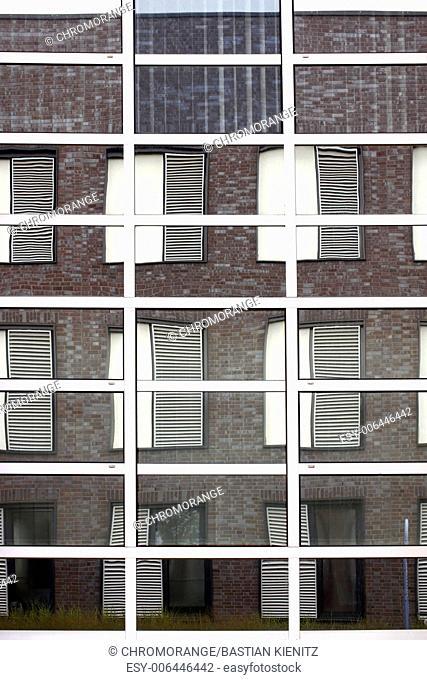 Mirror facade