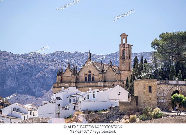 Real Colegiata de Santa María la Mayor in Antequera, province of Malaga, Andalucia, Spain