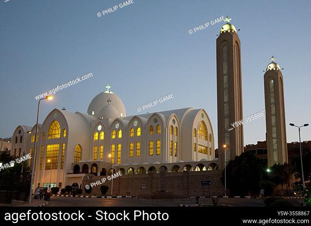 Archangel Michael Coptic Cathedral, Aswan, Egypt