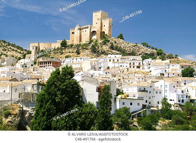 Moorish castle in Vélez Blanco, Almería province, Andalusia, Spain