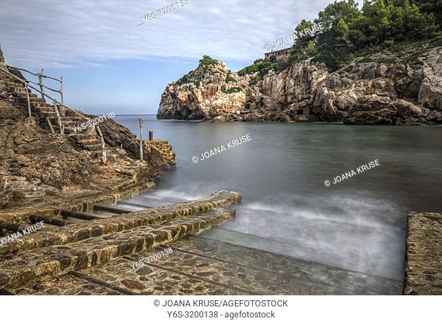 Cala de Deia, Mallorca, Balearic Islands, Spain, Europe