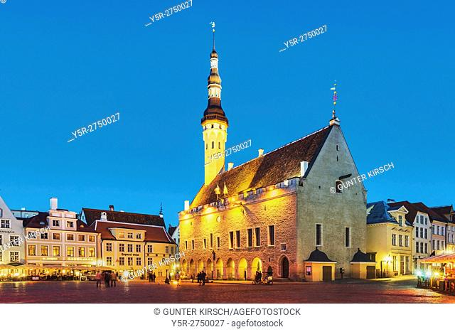 The Tallinn town hall is located in the old town of Tallinn which belongs to the UNESCO World Heritage site. The present building was built between 1405 and...