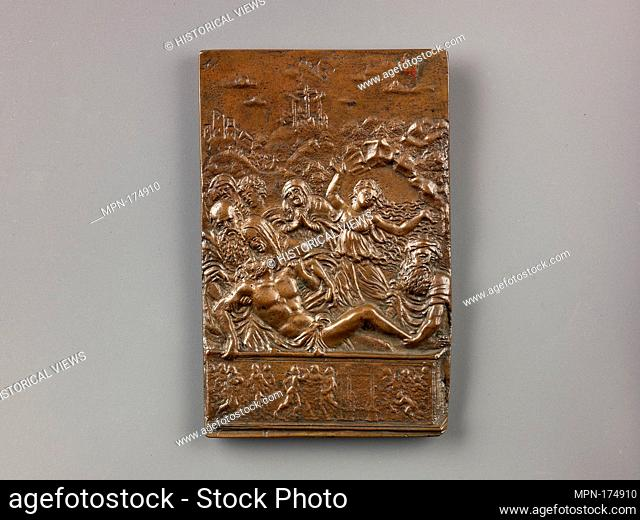 Entombment of Christ. Artist: Moderno (Galeazzo Mondella) (Italian, Verona 1467-1528 Verona); Date: model ca. 1498-1500 (possibly cast 17th century); Medium:...