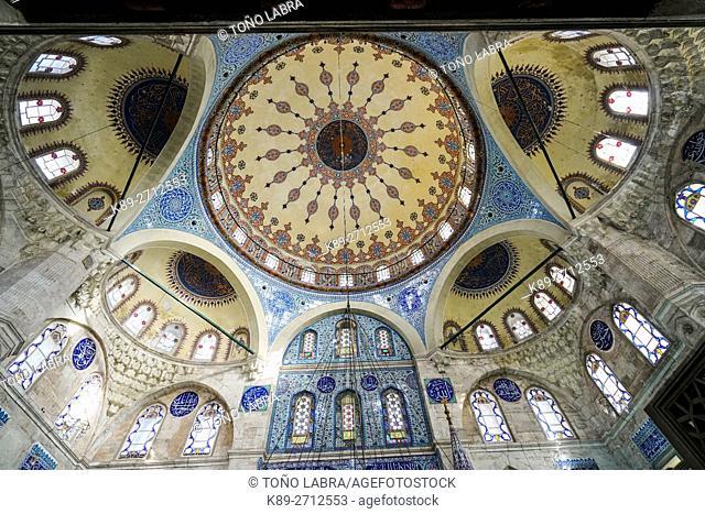 Sokullu Sehit Mehmet Pasha Mosque (by Mimar Sinan). Kadirga. Istanbul. Turkey