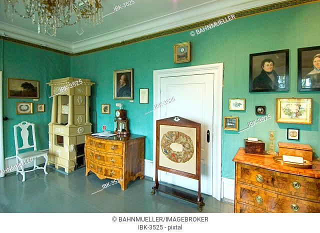 Herrnhut Saxonia Germany local museum middle class furniture
