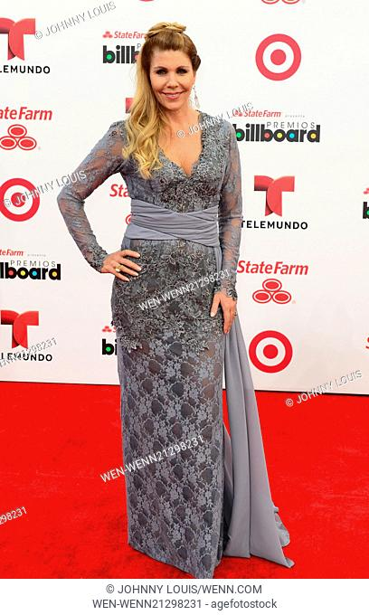 2014 Billboard Latin Music Awards - Arrivals Featuring: Karen Senties Where: Coral Gables, Florida, United States When: 25 Apr 2014 Credit: Johnny Louis/WENN