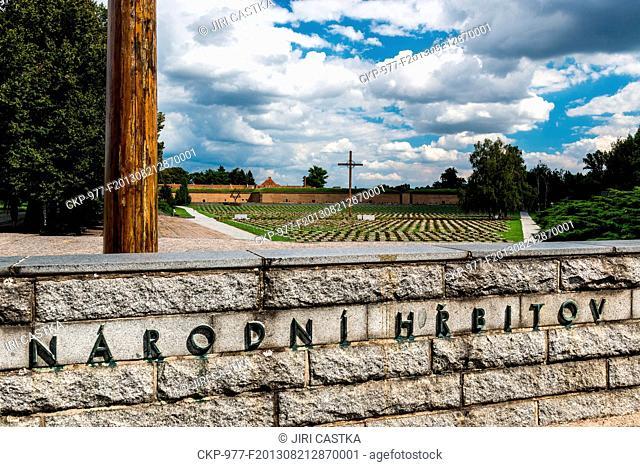Concentration camp, National Cemetery, Terezin, Czech Republic on August 14, 2013. (CTK Photo/Jiri Castka)
