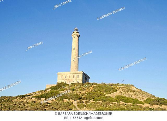 Lighthouse, Cabo de Palos, La Manga, Mar Menor, Murcia, Spain, Europe