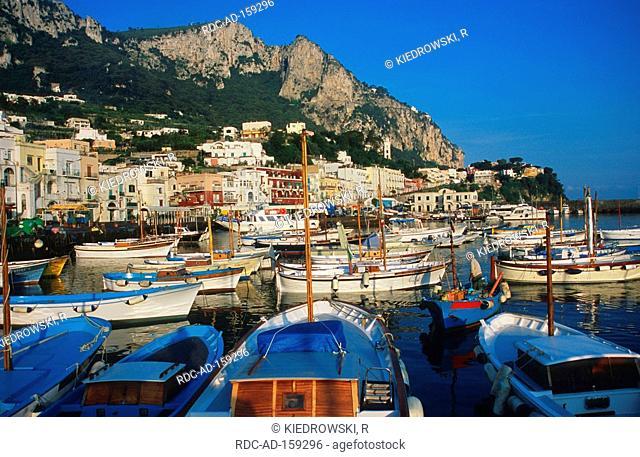 Marina Grande Capri Island Gulf of Naples Campania Italy