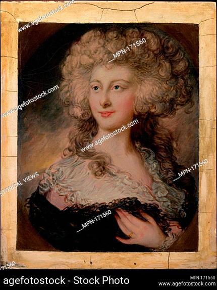 Anne Elizabeth Cholmley (1769-1788), Later Lady Mulgrave. Artist: Gainsborough Dupont (British, Sudbury, Suffolk 1754-1797 London); Medium: Oil on wood;...