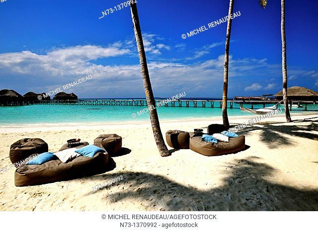 Indian Ocean, Maldives, Alifu Alifu Atoll, Constance Halaveli Resort