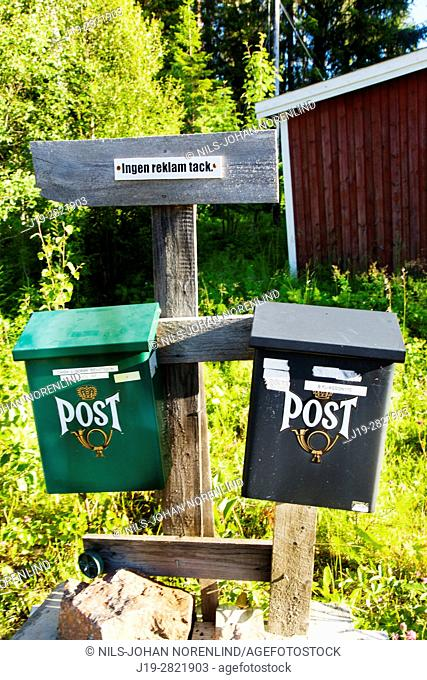 Mailboxes, Northern Sweden