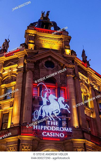 England, London, Leicester Square, The Hippodrome Casino