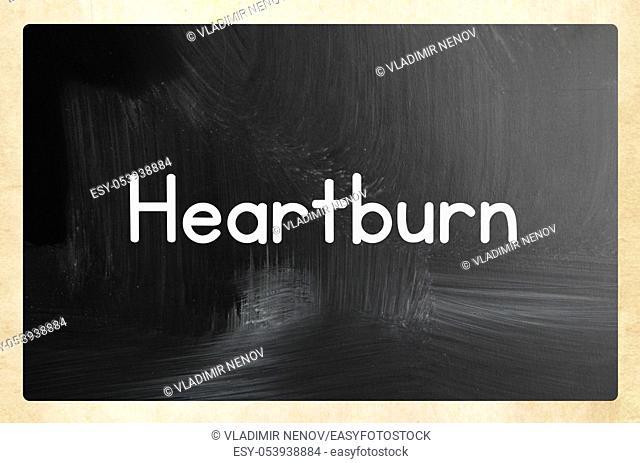 heartburn concept