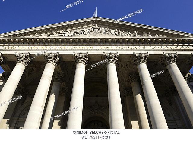 The Royal Exchange, London, England, United Kingdom