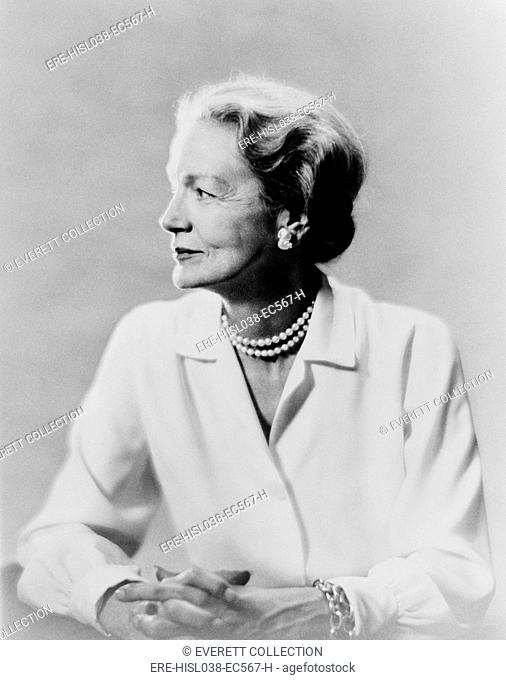 Millicent Fenwick served four-terms in the House of Representatives from New Jersey from 1975-83. (BSLOC-2014-13-77)