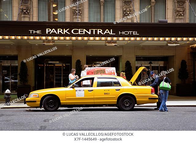 The Park Central Hotel  870 7th Ave, New York City, USA