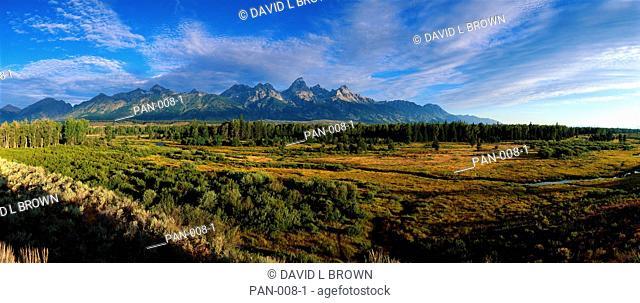 Dawn at Grand Teton National Park, Wyoming, USA