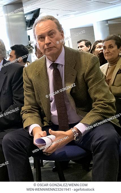 'Placido en el alma' charity concert at Santiago Bernabeu stadium Featuring: Bertin Osborne Where: Madrid, Spain When: 09 Dec 2015 Credit: Oscar Gonzalez/WENN