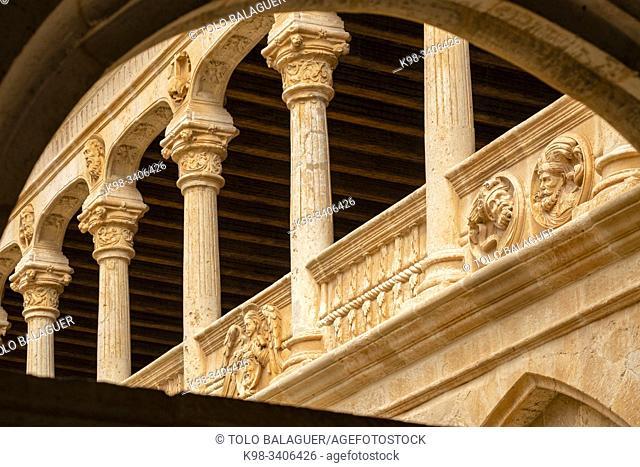monasterio de Santa María la Real de Huerta, construido entre los siglos XII y XVI, Santa María de Huerta, Soria, comunidad autónoma de Castilla y León, Spain