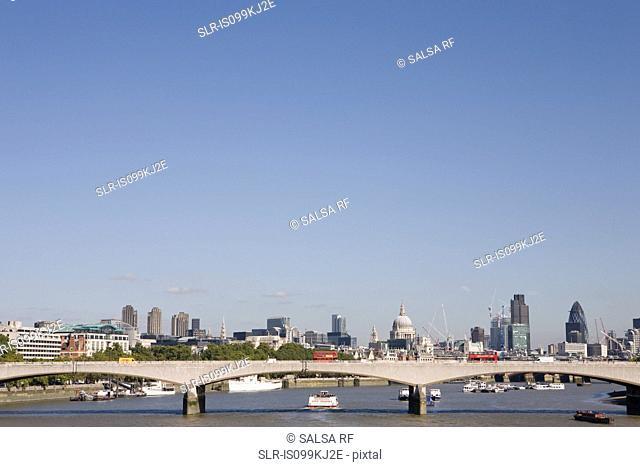 Waterloo Bridge, London, UK