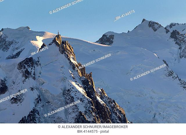 Aiguille du Midi upper station, Chamonix, Rhone-Alpes, France