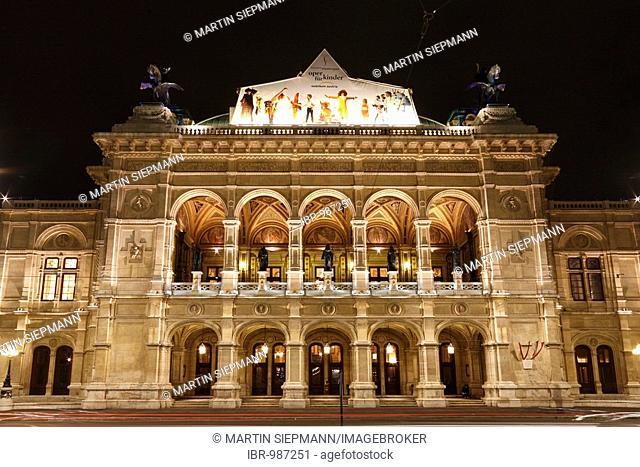 Staatsoper, State Opera House, Vienna, Austria, Europe