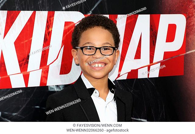 """Premiere Of Aviron Pictures' """"""""Kidnap"""""""" Featuring: Sage Correa Where: Hollywood, California, United States When: 01 Aug 2017 Credit: FayesVision/WENN"""