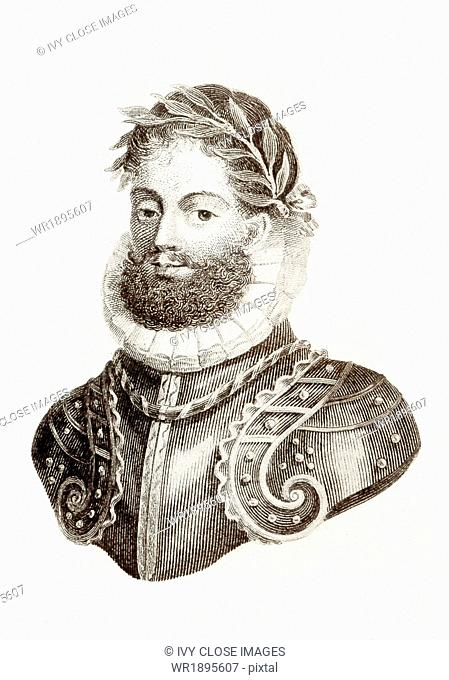 The Portuguese epic poet Luis de Camoes (1524?-1580) is considered the greatest figure of Portuguese literature. The voyage of Portuguese explorer and navigator...