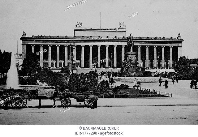 Koenigliches Museum Royal Museum, Berlin, Germany, Germany, Europe, historical photo from around 1899