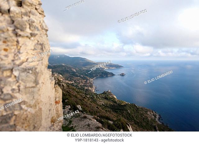 Southern Coast of Monte Argentario, Grosseto, Tuscany, Italy